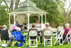 Music on the Lawn in Abingdon, VA